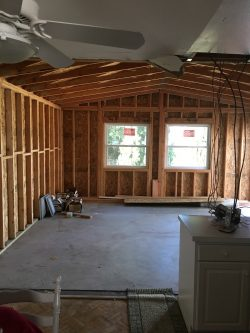 Framing a family room 1